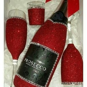 Other - Valentine's Customize Red or White Wine Gift Set